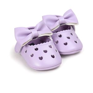 Picture of Baby Toddler Girl Infant Bowknot Soft Sole Prewalker