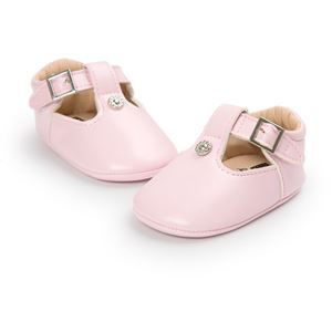 Picture of Soft Pink Baby Infant Toddler Pre-walker Shoes
