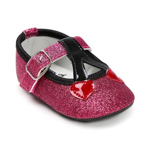 Picture of Baby Girl Soft Sole Crib Shoes Anti-slip Prewalker Shoes