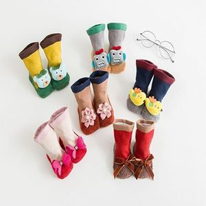 Picture of Assorted 3D Cartoon Design Socks for Babies (Size S)