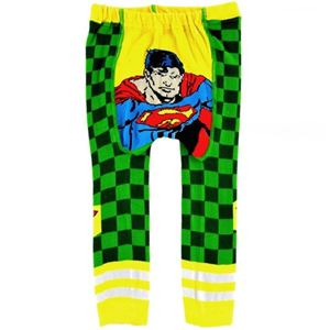 Picture of Cool Superman Cozy Legging for Infant Baby Boy