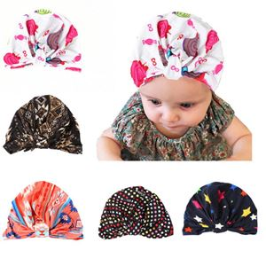 Picture of Assorted Fashion Patterned Pleated Headscarf for Baby Girl Kids