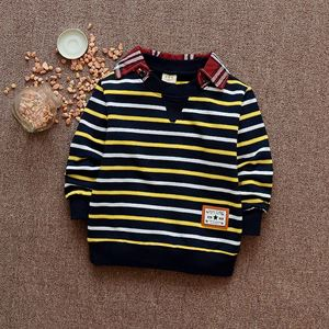 Picture of Handsome Long Sleeve Stripe Shirt for Boy