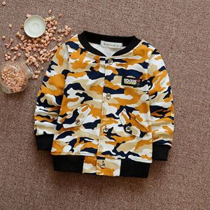 Picture of Stylish Army Yellow Long sleeve Sweater for Boy