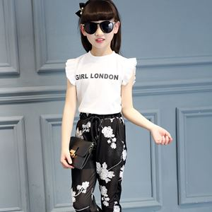 Picture of Korea Stylist Sleeve Girl with Long Pants Set