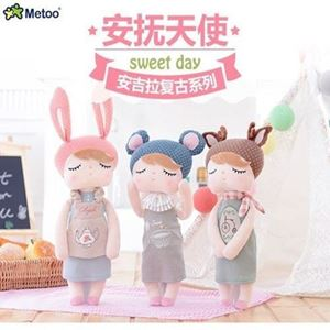 Picture of Metoo Angela Doll Plush Soft Toy for Baby Girls
