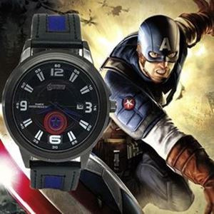 Picture of Cool Avengers belt watch (Captain American) for Boys