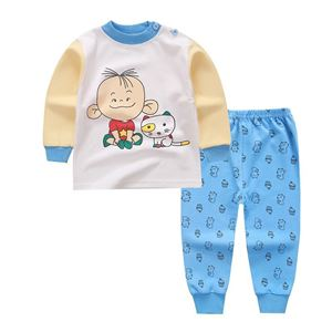 Picture of Baby Boy Top With Long Pant Pyjamas Sleepwear Set