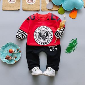 Picture of Eagle Boy Longsleeve Shirt and Pant Two-Piece Set